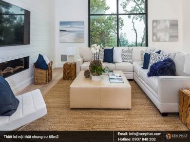 Khám phá xu hướng thiết kế nội thất nhà chung cư 65m2 độc đáo năm 2018