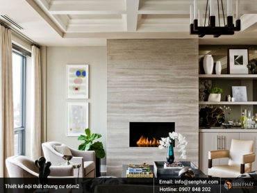 Thiết kế nội thất chung cư 66m2 ĐẸP MẮT, GIÁ